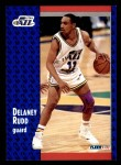 1991 Fleer #366  Delaney Rudd  Front Thumbnail