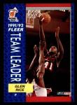 1991 Fleer #385   -  Glen Rice Heat Leaders Front Thumbnail