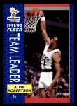 1991 Fleer #386   -  Alvin Robertson Bucks Leaders Front Thumbnail