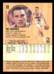 1991 Fleer #18  Rex Chapman  Back Thumbnail