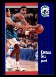 1991 Fleer #20  Kendall Gill  Front Thumbnail
