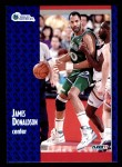 1991 Fleer #44  James Donaldson  Front Thumbnail