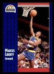 1991 Fleer #50  Marcus Liberty  Front Thumbnail