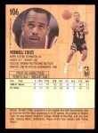 1991 Fleer #106  Bimbo Coles  Back Thumbnail