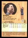 1991 Fleer #124  Tod Murphy  Back Thumbnail