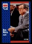 1991 Fleer #178  Dick Motta  Front Thumbnail