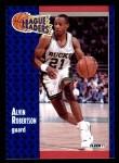 1991 Fleer #222   -  Alvin Robertson League Leader Front Thumbnail