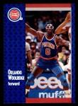 1991 Fleer #283  Orlando Woolridge  Front Thumbnail