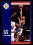 1991 Fleer #287  Alton Lister  Front Thumbnail