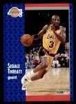1991 Fleer #304  Sedale Threatt  Front Thumbnail