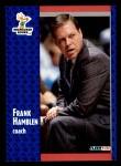 1991 Fleer #312  Frank Hamblen  Front Thumbnail
