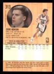 1991 Fleer #313  Steve Henson  Back Thumbnail