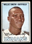 1967 Topps #397  Willie Smith  Front Thumbnail
