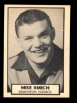 1962 Topps CFL #47  Mike Kmech  Front Thumbnail