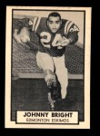 1962 Topps CFL #38  Johnny Bright  Front Thumbnail