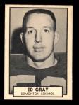 1962 Topps CFL #44  Ed Gray  Front Thumbnail
