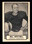 1962 Topps CFL #140  Bill Mitchell  Front Thumbnail