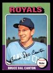 1975 Topps Mini #472  Bruce Dal Canton  Front Thumbnail