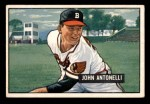 1951 Bowman #243  Johnny Antonelli  Front Thumbnail
