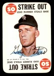 1968 Topps Game #13  Gary Peters   Front Thumbnail