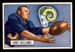 1951 Bowman #114  Jerry Williams  Front Thumbnail