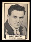 1962 Topps CFL #42  Gino Fracas  Front Thumbnail