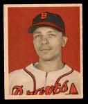 1949 Bowman #104  Eddie Stanky  Front Thumbnail