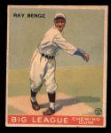 1933 Goudey #141  Ray Benge  Front Thumbnail
