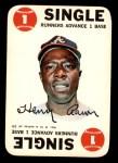 1968 Topps Game #4  Hank Aaron   Front Thumbnail
