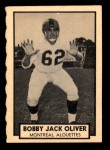 1962 Topps CFL #92  Bobby Jack Oliver  Front Thumbnail
