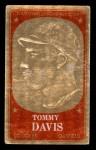 1965 Topps Embossed #49  Tommy Davis  Front Thumbnail