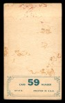 1965 Topps Embossed #59   Hank Aaron   Back Thumbnail