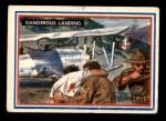 1953 Topps Fighting Marines #52   Dangerous Landing Front Thumbnail