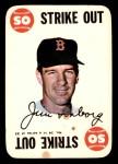 1968 Topps Game #14  Jim Lonborg  Front Thumbnail
