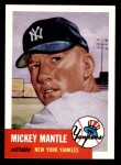 1953 Topps Archives #82  Mickey Mantle  Front Thumbnail