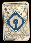 1968 Topps Game #16   Dean Chance   Back Thumbnail