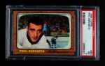 1966 Topps #63  Phil Esposito  Front Thumbnail