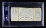 1912 T202 Hassan   -  Roger Bresnahan / Robert Harmon Caught Asleep Off 1st  Back Thumbnail