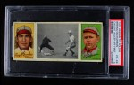 1912 T202 Hassan   -  Roger Bresnahan / Robert Harmon Caught Asleep Off 1st  Front Thumbnail
