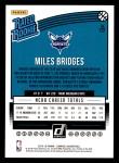 2018 Donruss #172  Miles Bridges  Back Thumbnail