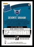 2018 Donruss #189  Devonte' Graham  Back Thumbnail