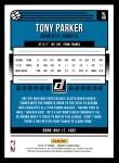 2018 Donruss #48  Tony Parker  Back Thumbnail