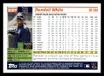 2005 Topps #527  Rondell White  Back Thumbnail