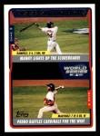 2005 Topps #733   -  Manny Ramirez / Pedro Martinez World Series Front Thumbnail
