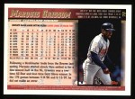 1998 Topps #70  Marquis Grissom  Back Thumbnail