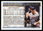 1998 Topps #75  Jim Edmonds  Back Thumbnail