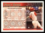1998 Topps #159  Pokey Reese  Back Thumbnail