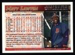 1998 Topps #208  Matt Lawton  Back Thumbnail