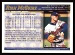 1998 Topps #413  Ryan McGuire  Back Thumbnail