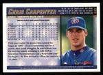 1998 Topps #442  Chris Carpenter  Back Thumbnail